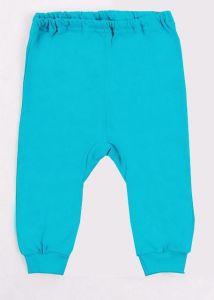 Бирюзовые штанишки на малыша