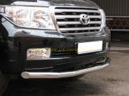 Защита переднего бампера 76 мм (LCZ-000203) для Toyota Land Cruiser 200 2008