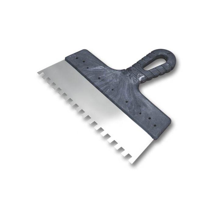 Шпатель зубчатый 4х4 мм, ширина 200 мм