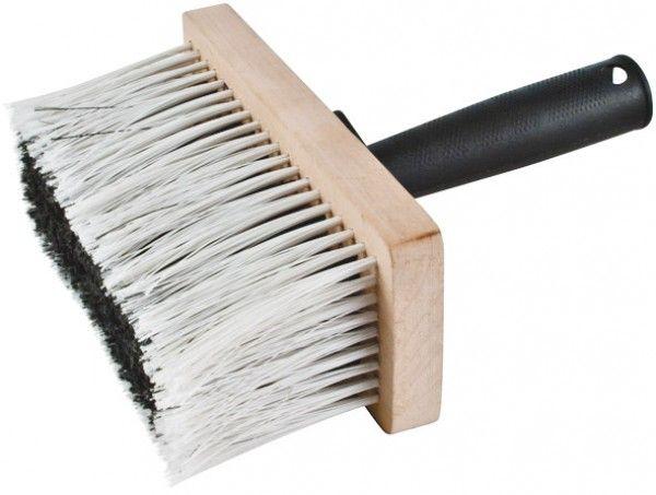 Макловица, синтетическая  щетина, деревянный корпус 7 х 15см