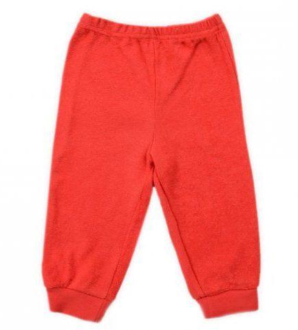 Красные махровые штанишки