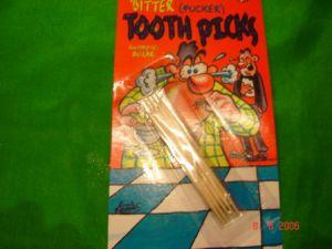 Зубочистки с перцем