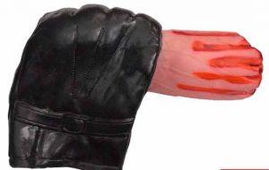 Перчатка с рукой