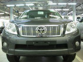 Решетка радиатора  (Тип 6) для Toyota Land Cruiser Prado 150 2010