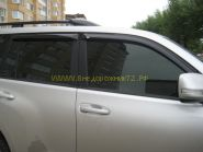 Дефлекторы окон (ветровики) для Toyota Land Cruiser Prado 150