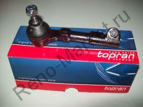 Наконечник рулевой тяги левый (MeganeI) Hans Pries Topran 700101586 аналог 6000022752, 7701041311, 7701470765
