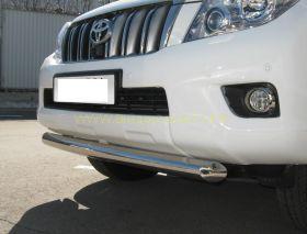 Защита переднего бампера 76 мм (PNZ-000471) для Toyota Land Cruiser Prado 150 2010