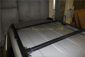 Багажная система на штатные рейлинги (Тип 1) для Toyota Land Cruiser Prado 150
