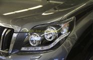 Передняя альтернативная оптика  (Тип 3) для Toyota Land Cruiser Prado 2010