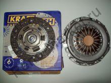 Сцепление в сборе (MeganeII 1.6 16v) Kraft Tech W06200B9 (без выжимного) аналог 7701477017, 7711135430, 7701468831