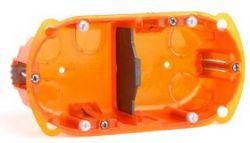 Монтажная коробка Legrand Batibox 2п гл.40мм универсальная (Арт. 80102)