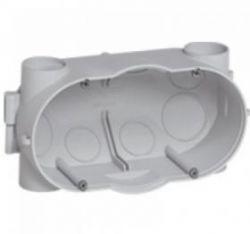 Коробка Batibox двойная для заливки в бетон; 58 мм(арт.81942)