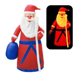 Надувная фигура «Дед Мороз в шубе»