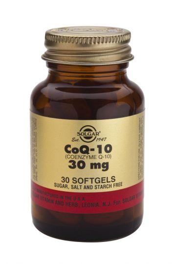 Солгар Коэнзим Q-10 30 мг (30 капсул)