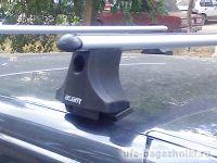 Багажник на крышу на Chevrolet NIVA (Атлант, Россия) - аэродинамические дуги