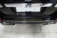 Накладка на задний бампер (Тип 5) для Toyota Land Cruiser 200