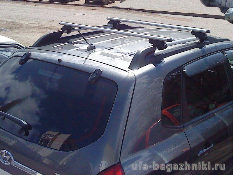 Багажник на рейлинги Атлант, аэродинамические дуги