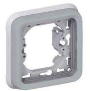 Рамка с суппортом Legrand Plexo IP55 1 пост,серый (арт.69681)