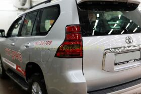 Задняя альтернативная оптика диодная (Тип 8) для Toyota Land Cruiser Prado 150
