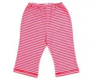 штаны красные в белую полоску