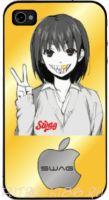 Чехол для смартфона с рисунком SWAG арт.01
