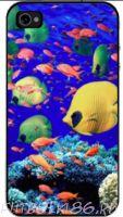 Чехол для смартфона с рисунком Морской мир арт.01