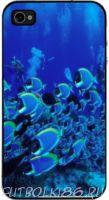 Чехол для смартфона с рисунком Морской мир арт.03