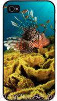 Чехол для смартфона с рисунком Морской мир арт.05
