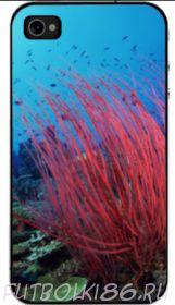 Чехол для смартфона с рисунком Морской мир арт.07