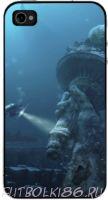 Чехол для смартфона с рисунком Морской мир арт.08