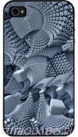 Чехол для смартфона с рисунком Абстракт арт.08