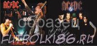 Кружка с изображением Рок-музыкантов. арт.128