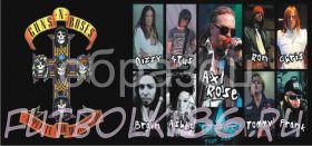 Кружка с изображением Рок-музыкантов. арт.404