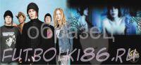 Кружка с изображением Рок-музыкантов. арт.441