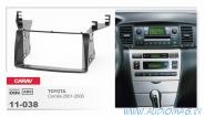 Carav 11-038 (2-DIN TOYOTA Corolla 2001-2006)