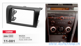 Carav 11-081 (2-DIN MAZDA 3 04-08г, Axela 06-08г)