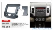 Carav 08-004 (2-DIN MITSUBISHI Outlander XL2006+ / CITROEN C-Crosser 2007+ / PEUGEOT (4007) 2007+)