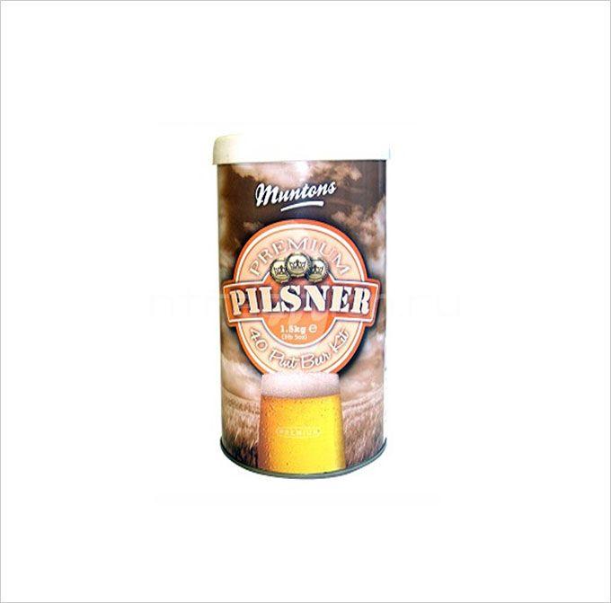 Пивная смесь Muntons Premium Pilsner 1,5 кг.