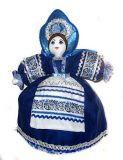 Сувенирная текстильная кукла на чайник Груня ручной работы