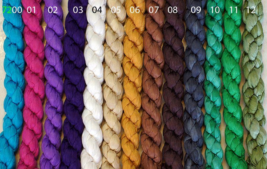 Однотонные шёлковые шарфы (отправка из Индии)