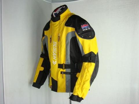 Мотокуртка туристическая DUHAN 023 желтый/черный