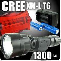CREE 1300 lm T6 (+штатив для установки на велосипед)