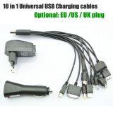 Универсальное зарядное устройство USB 10 в 1