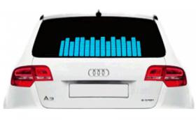 Эквалайзер на заднее стекло автомобиля