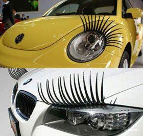 Накладные реснички на авто