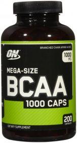 Optimum Nutrition BCAA 1000 Caps (200 капсул)
