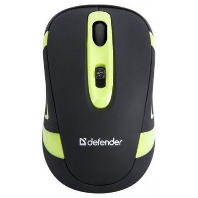Беспроводная IR-лазерная мышь Magnifico MM-505 черный+зеленый,джойстик