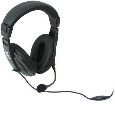 Компьютерная гарнитура Gryphon 750 черный, кабель 2 м