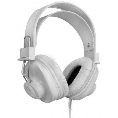 Наушники с микрофоном Helios HN-899 Белый, мик. на кабеле, 2.2 м