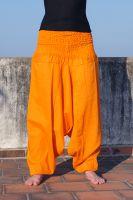 Оранжевые индийские штаны алладины, 700 руб., купить в интернет-магазине